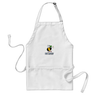 bee merry adult apron