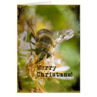 Bee Merry Christmas Card