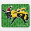 Bee Merry, mousepad mousepad