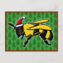 Bee Merry, postcard postcard