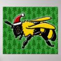 Bee Merry, print print