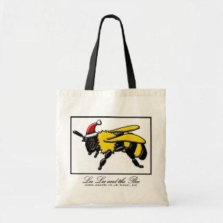 Bee merry, shopping bag