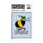 bee merry stamp
