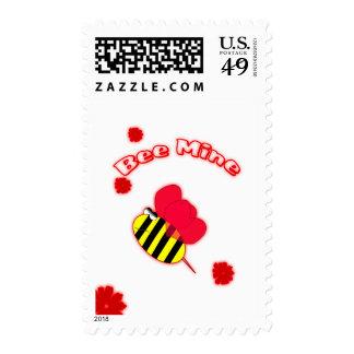 Bee Mine Custom Postage