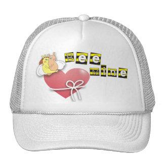 Bee Mine Cute Cartoon Bees in Love Hats