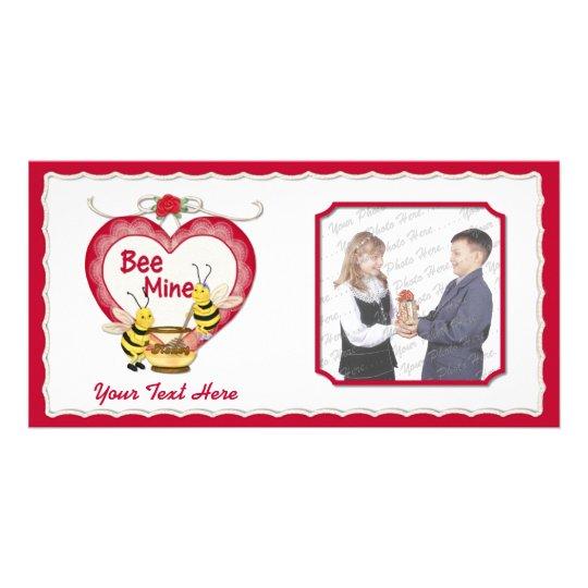 Bee Mine Honey Card