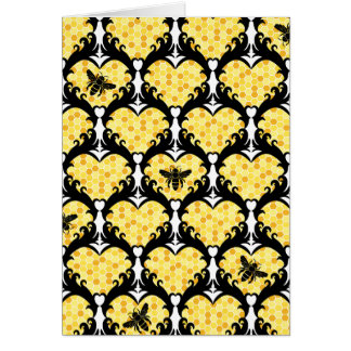 Bee Mine, Honey Valentine Card