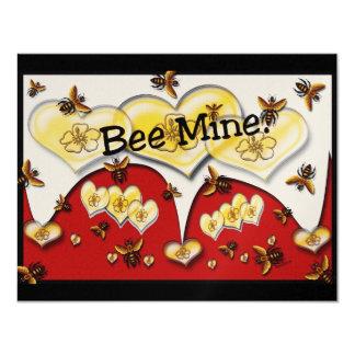 Bee Mine Custom Invitation