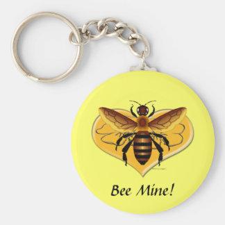 Bee Mine Keychain