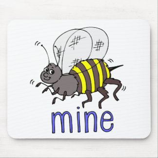 Bee Mine Mouse Pad