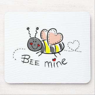 Bee Mine Mouse Pad