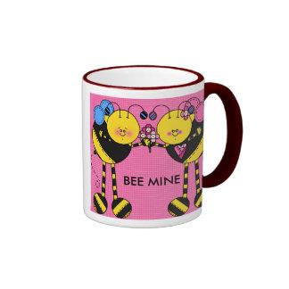 BEE MINE RINGER COFFEE MUG