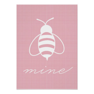 Bee Mine Poster