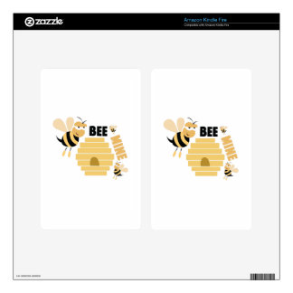 Bee Mine Kindle Fire Decals