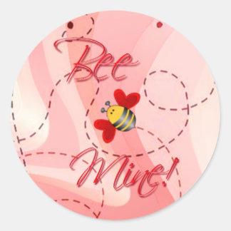 BEE MINE VALENTINE by SHARON SHARPE Sticker