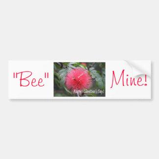 """""""Bee Mine"""" Valentine's Day Bumper Sticker! Bumper Sticker"""