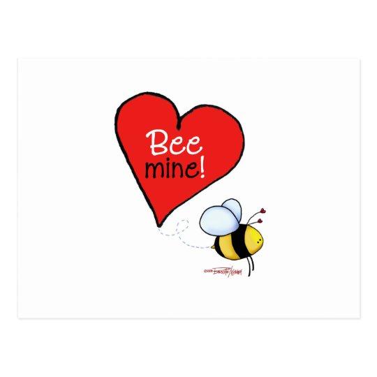 Bee Mine Valentine's Day Greeting Card