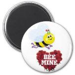 BEE MINE Valentines Day Magnet