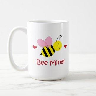 Bee Mine Valentine's Day Mug - Bumble Bee