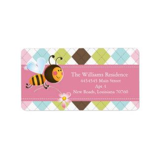 Bee Mine | Valentine's Day (Today's Best Award) Address Label