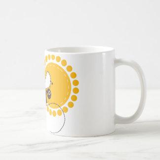 Bee Classic White Coffee Mug