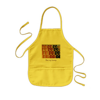 Bee my honey kids' apron