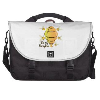 Bee My Honeybee Laptop Messenger Bag