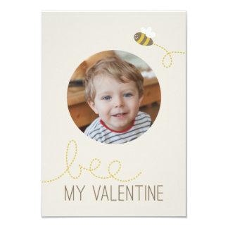 Bee My Valentine Classroom Valentine Card
