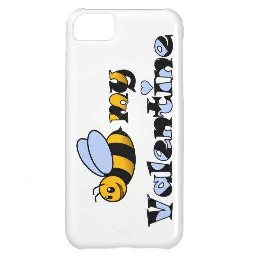 Bee my Valentine Cover For iPhone 5C