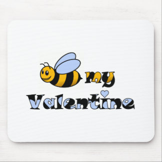 Bee my Valentine Mouse Pad