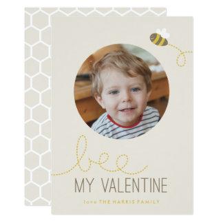 Bee My Valentine Valentine's Day Card