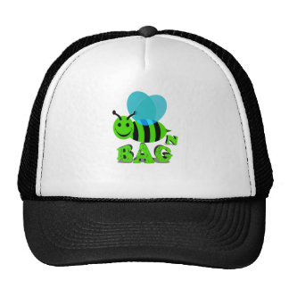 bee n bag trucker hat