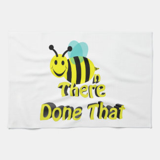 bee n there done that kitchen towel