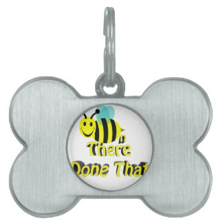 bee n there done that pet name tag