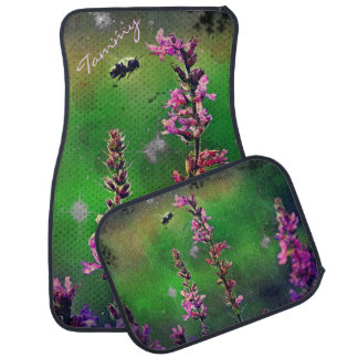 Bee N Wildflowers Industrial Car Mats *Personalize Car Mat