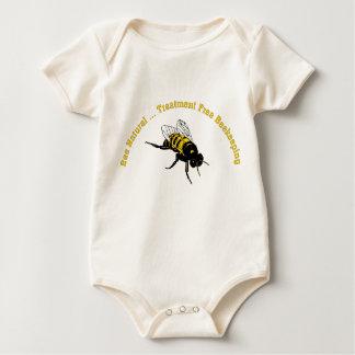 Bee Natural ... Treatment Free Beekeeping Baby Bodysuit