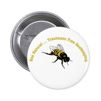 Bee Natural ... Treatment Free Beekeeping Button