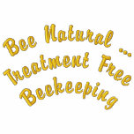 Bee Natural ... Treatment Free Beekeeping Embroidered Jacket