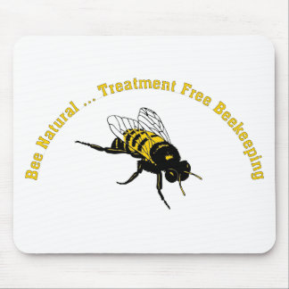 Bee Natural ... Treatment Free Beekeeping Mouse Pad