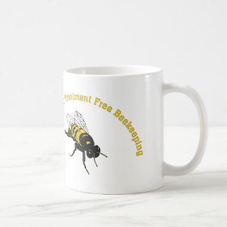 Bee Natural ... Treatment Free Beekeeping Classic White Coffee Mug
