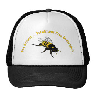 Bee Natural ... Treatment Free Beekeeping Trucker Hat