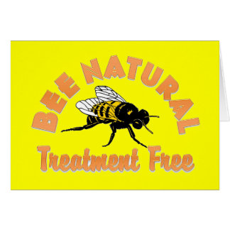 Bee Natural Treatment Free Card