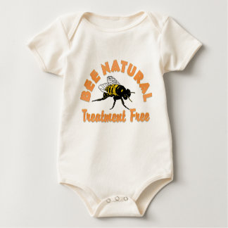 Bee Natural Treatment Free Romper
