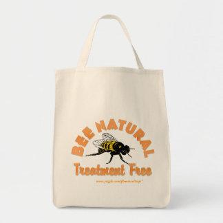 Bee Natural Treatment Free Tote Bag