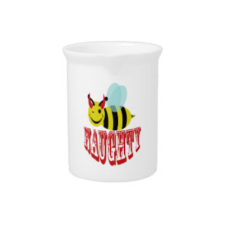 bee naughty drink pitchers