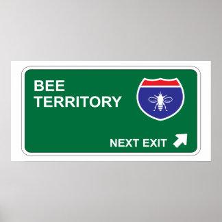 Bee Next Exit Poster