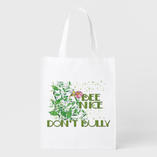Bee Nice and Don't Bully Back to School Grocery Bag