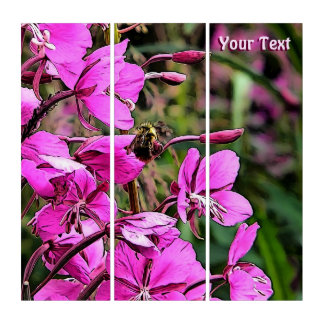 Bee Nice Triptych