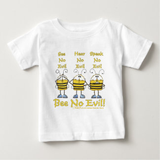 """Bee No Evil"" Bees Infant T-shirt"