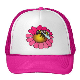Bee on a Flower Hat